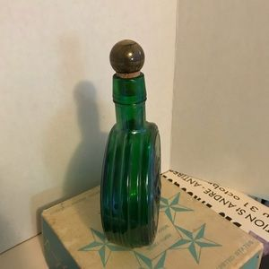 wheaton NJ Accents - Vintage Eisenhower first edition bottle/ decanter.